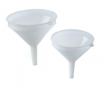 "Funnel Plastic 15cm Diam (6"") Without Filter Sieve"
